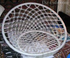 Оформление спинки кресла