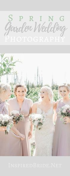 Vows In The Garden | Simple Wedding Theme Perfect This Spring!