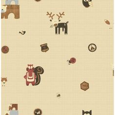 Graham & Brown features an amazing collection of wallpaper for kids rooms, perfect for a nursery, child or teenager's bedroom. If you're looking for kids wallpaper, we have a great selection. Kids Bedroom Wallpaper, Home Wallpaper, Owl Bedrooms, Bedroom Ideas, Wildlife Wallpaper, Cream Wallpaper, Woodland Critters, Design Repeats, Graham Brown