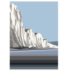 The Seven Sisters towards Beachy Head. Ian Mitchell