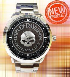 New Hot !! Harley Davidson Skull Watches