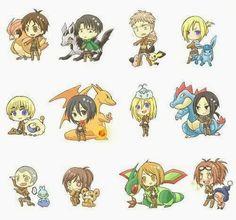 everyone's pokemon