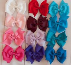 Stylish Large Bowtique Bow $3.99 #shimmyshimmybowtique