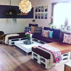 #easy #sofa #u #pallets