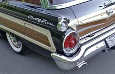 '59 Ford Country Squire Galaxie Wagon 4-Door 5.8L
