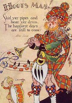 Scottish saying - aye, hoots 'n' toots mon. Scottish Toast, Scottish Words, Scottish Quotes, Scottish New Year, Motif Music, Le Clan, Scotland History, Thing 1, England