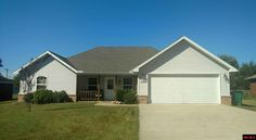 MLS#110230    $139,900  SHARP 3 BR 2 BA HOME IN ARKANSAS ESTATES WITH ALL THE BELLS & WHISTLES! COFFERED CEILING IN LIVING ROOM, TONS OF CABINETS IN AN OVERSIZED KITCHEN, SPLIT BEDROOM & MASTER BATH AND WALK-IN CLOSET TO DIE FOR! CENTRAL VAC, GENERATOR, 6' WOOD PRIVACY FENCED AND SPACIOUS BACKYARD. IF THIS HOME DOESN'T HAVE IT, YOU DON'T NEED IT! COME SEE!
