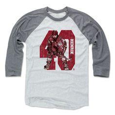 Henrik Zetterberg Sketch 40 R Detroit Officially Licensed NHLPA Baseball T-Shirt Unisex S-3XL