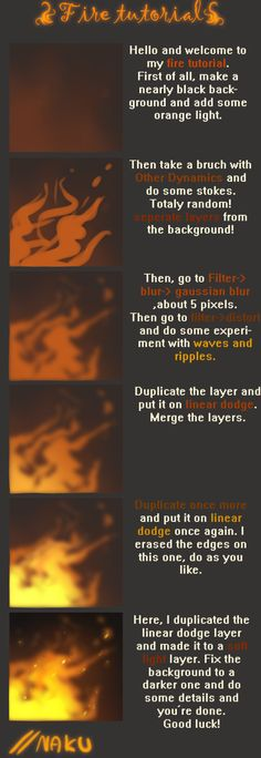 drawing fire tutorial - Buscar con Google