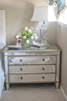 love the nightstand...