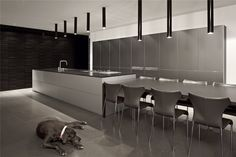 Antokolsky Apartment 1 by Pitsou Kedem Architects Modern Interior, Interior Architecture, Interior And Exterior, Interior Design, Pitsou Kedem, Arch House, Bathroom Trends, Interior Lighting, Kitchen Design