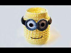 Minion jar - Wilmade - free crochet patterns