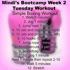 Sorry I am late getting this one up guys. I am battling a nasty cold :( As always, I am not a health and fitness professional. I am just a woman who has been overweight her entire life. I am sharing with you the exercises that I am doing to help me lose weight and get healthy. Today is a simple boxing routine. If you have any questions or comments please feel free to let me know.
