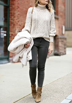 The perfect cable-knit sweater