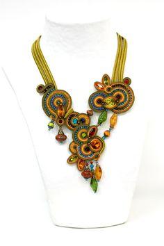 necklaces : Tangerine