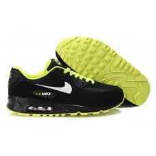 huge discount e7953 5ccbe Nike Air Max 90 Black White Volt