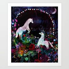GardenDreams Art Print