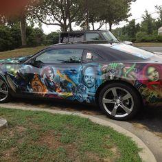More of the Batman car