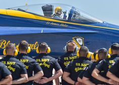 The weather has cleared and it's about time to rock the skies above Tinker Air Force Base! Blue Angels Planes, Us Navy Blue Angels, Airplane Fighter, Fighter Aircraft, Fighter Jets, Military Jets, Military Aircraft, Go Navy, United States Navy