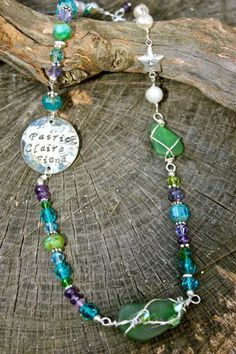 Such pretty colors. Mermaid tears jewelry