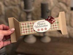 Stampin Up Trier Bitburg - Stampin Up - Joy-Stampin Christmas Gift Box, Stampin Up Christmas, Christmas Treats, Diy Paper, Paper Crafts, Stampin Up Weihnachten, Fete Ideas, Creative Box, Envelope Punch Board
