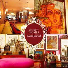 #CelebrityHomes: A glimpse into interior designer Nisha Jamwal's cozy nest! #NishaJamwal #BestHomes #SaturdaySwag #Interiors #HomeDecor #HomesFurnishings