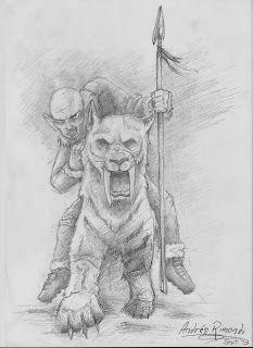 Orburuc sobre tigre - Andres Rimondi