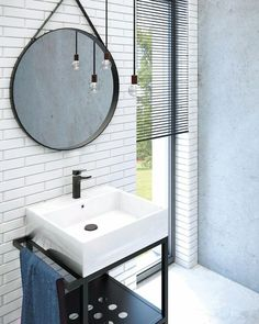 Minimalist Furniture, Home And Living, Teak, Vanity, Mirror, Retro, Bathroom, Design, Home Decor