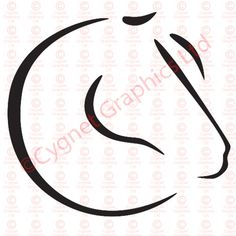 Imgs For > Horse Front Head Logo