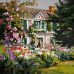 """Monet's Legacy"" - Original Fine Art for Sale - © Erin Dertner"