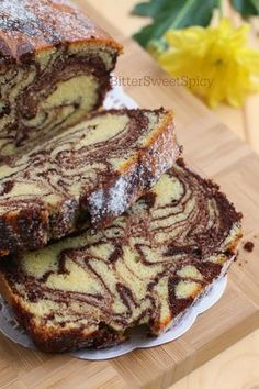 I've been craving for marble cake these past weeks…. Since I had not tried… I've been craving for marble cake these past weeks…. Since I had not tried any new marble cake recipe for some time, this would be a good… Marble Pound Cakes, Marble Cake Recipes, Pound Cake Recipes, Marble Cake Recipe Moist, Recipes For Cakes, Eggless Marble Cake, Chocolate Marble Cake, Chocolate Loaf Cake, Sponge Cake Recipes
