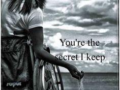 """Cause blue eyes... you're the secret I keep.."""