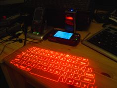 cell phone hologram keyboard - Google Search