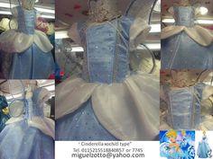 handmade Cinderella costume