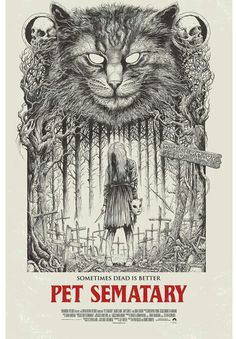 Pet Sematary, the reboot is better than the original. Old school horror vibes. Arte Horror, Horror Art, Horror Movie Characters, Horror Movies, Comedy Movies, Stephen King Tattoos, Stephen King Movies, Kings Movie, Pet Sematary