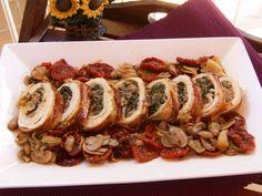 Truffle-stuffed Turkey... oh, my! Christmas dish from Spain. ~ Pavo Trufado de Navidad (Spain)