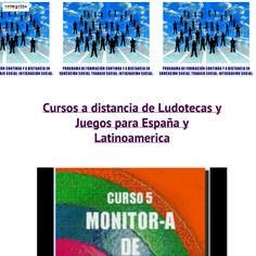 Cursos para educadore sociales, maestros, monitores, animadores, integradores, pedagogos