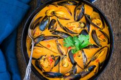 Salsa Curry, My Favorite Food, Favorite Recipes, Mussels, Paella, Cooking, Ethnic Recipes, Gaucho, Pantry