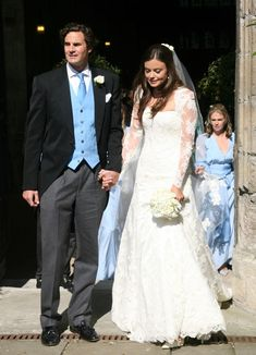 Rupert Finch and Natasha Rufus leave the church after their wedding Kate Middleton College, London Nightclubs, College Boyfriend, Royal Life, Royal Engagement, Tv Presenters, Future Wife, Princess Charlotte