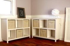 Cube bookcases | Do It Yourself Home Projects from Ana White
