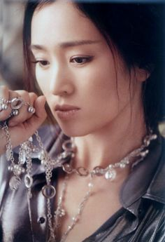 Gong Li is so pretty, her cheekbones are exotic and she conveys a deep sense of timeless beauty.