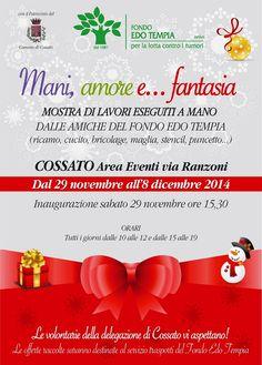 Mostra organizzata dal  Fondo Edo Tempia presso l'Area Eventi di Villa Ranzoni dal 29 novembre all'8 dicembre