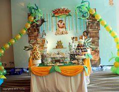 Lucas' 1st Madagascar Birthday Party - Madagascar