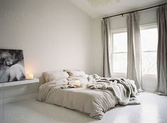 Cozy winter loft bedroom by Vicki Grafton Photography for Stocksy United Cozy winter loft bedroom by Vicki Grafton Photography for Stocksy United Quirky Home Decor, Cheap Home Decor, Bedroom Loft, Home Decor Bedroom, Decor Room, Wall Decor, Rustic Home Interiors, Minimalist Bedroom, Luxurious Bedrooms