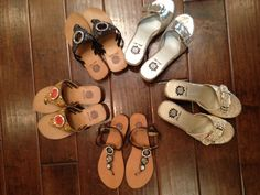 Adorable Yellow Box sandals for summer!