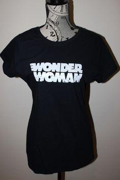 Wonder Woman Graphic T-Shirt (Black)