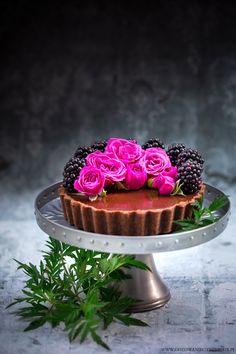 Tartaletki czekoladowo jeżynowe