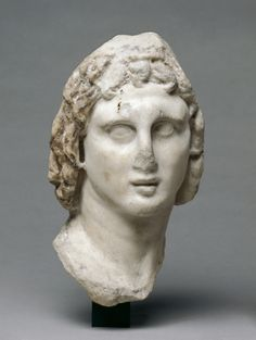 Head of Alexander the Great | king of the Ancient Greek kingdom of Macedonia, at the Cleveland Museum of Art