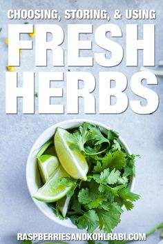 Tips and trick along with delicious recipes using fresh herbs. Herb Guide, Cooking With Fresh Herbs, Delicious Recipes, Yummy Food, Brown Butter Sauce, Asian Soup, Stuffed Mushrooms, Stuffed Peppers, Vegetarian Cheese