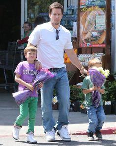 Mark Wahlberg wearing Air Jordan III 3 Cement